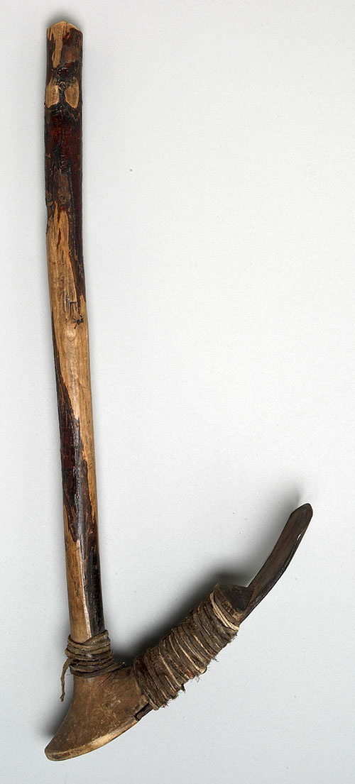 Hoe, ca. 1885. Northern Plains. NA.105.1