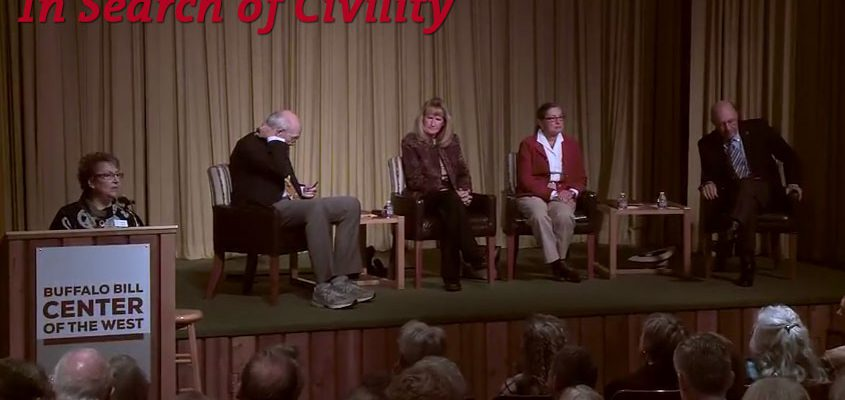 In Search of Civility, a public forum sponsored by Wyoming Rising-Northwest