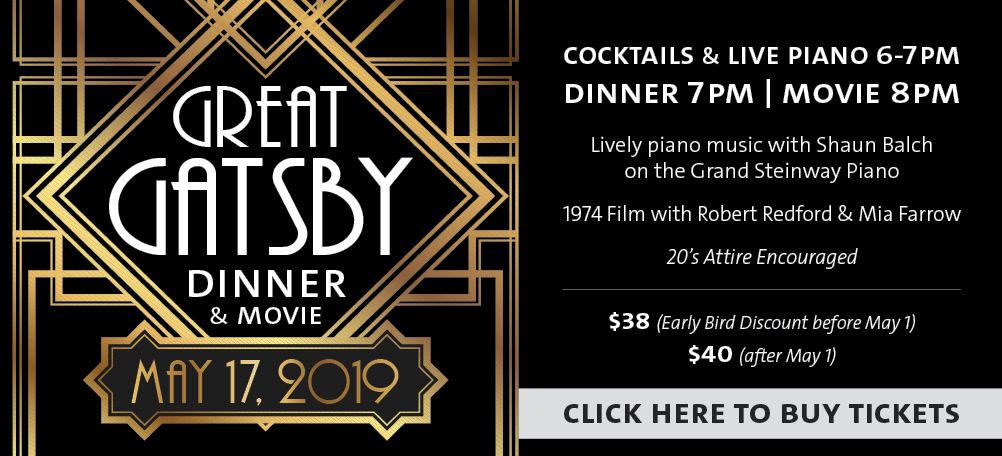 Join us for Dinner & a Movie: The Great Gatsby