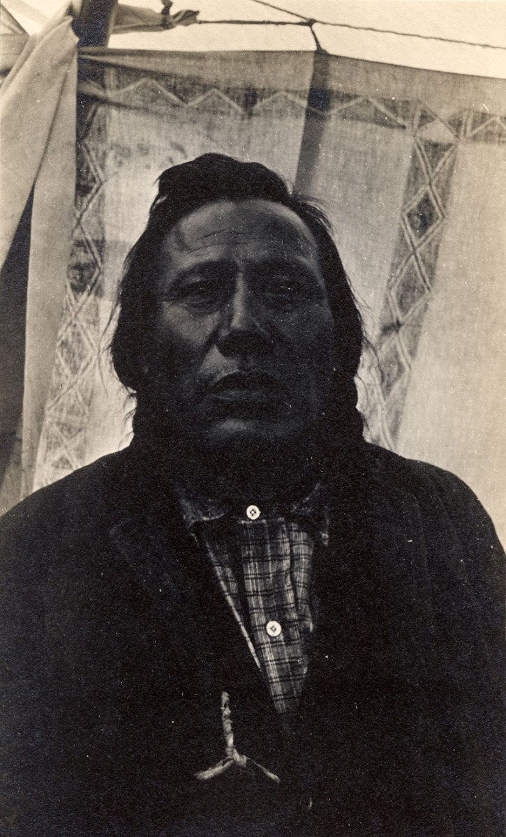 Curly, ca. 1895–1905. MS 320 Paul Dyck Plains Indian Buffalo Culture Collection. P.320.212a