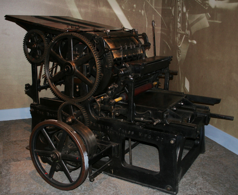The Printing Press - Buffalo Bill Center of the West