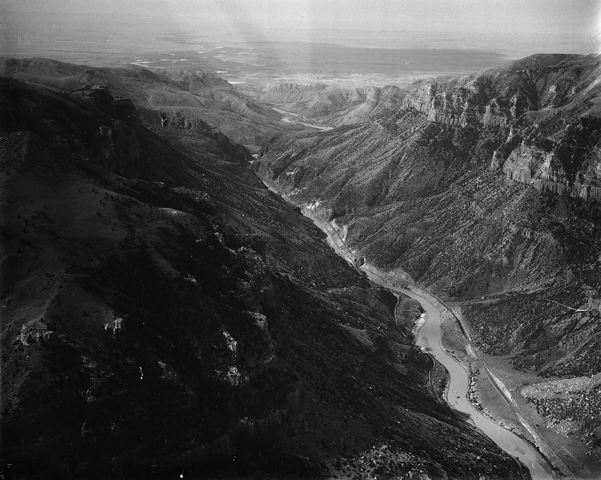 The Wind River in Wyoming, ca. 1930–1939. MS 3 Charles Belden Collection. PN.67.468b