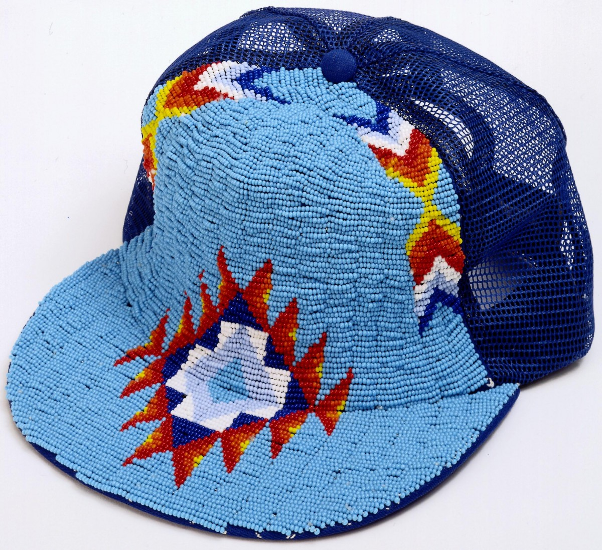 Beaded Trucker Hat