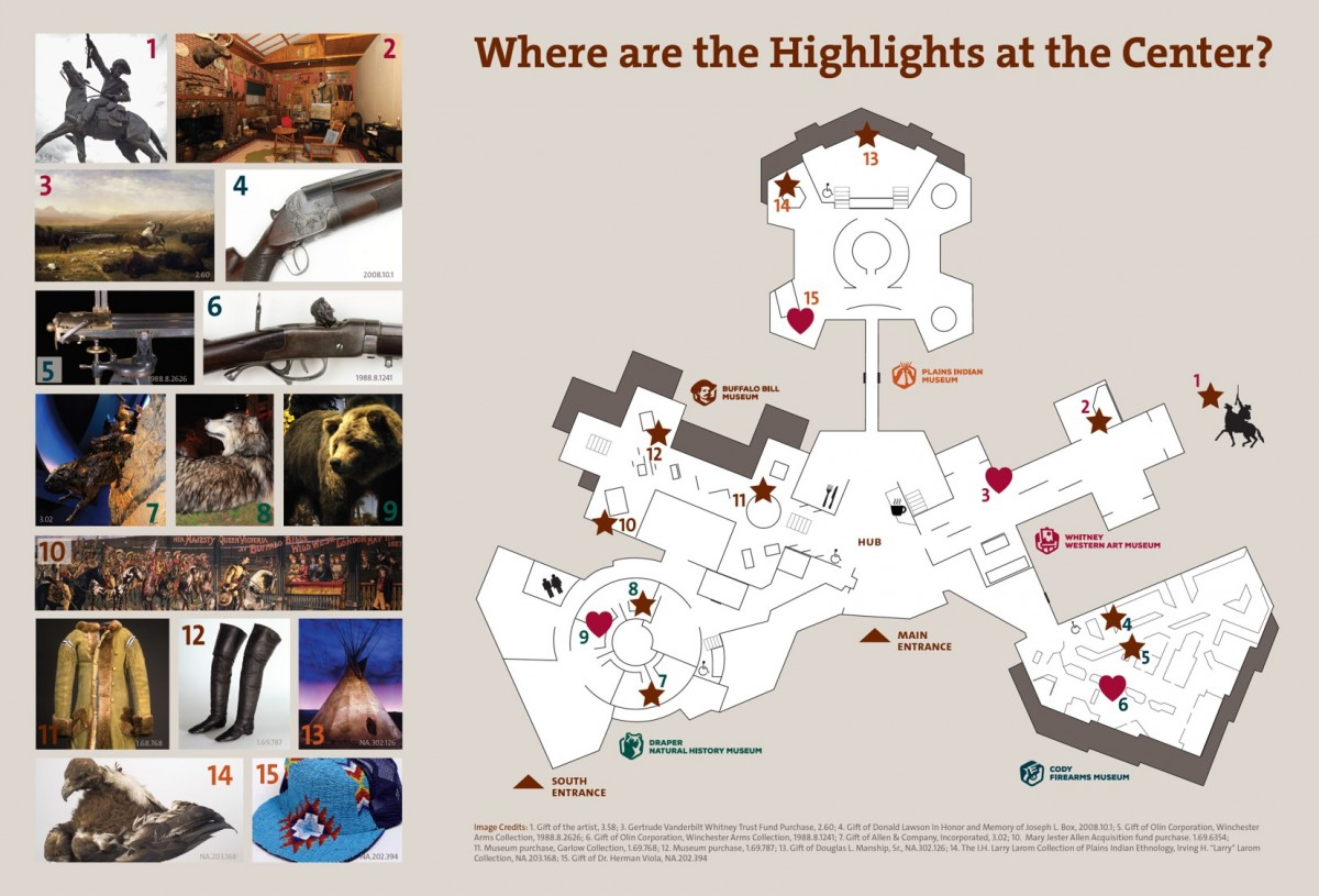 Highlights Map