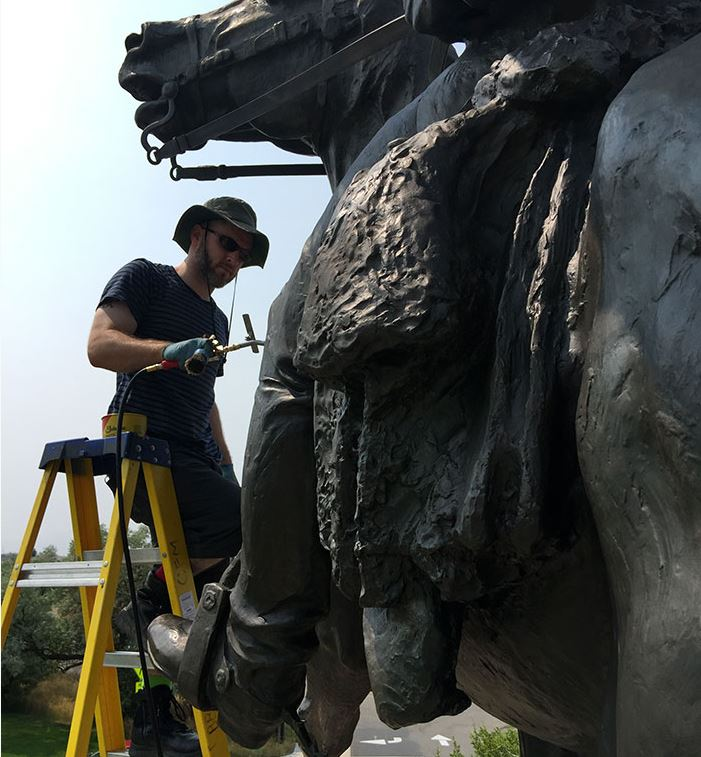 Sculpture Maintenance