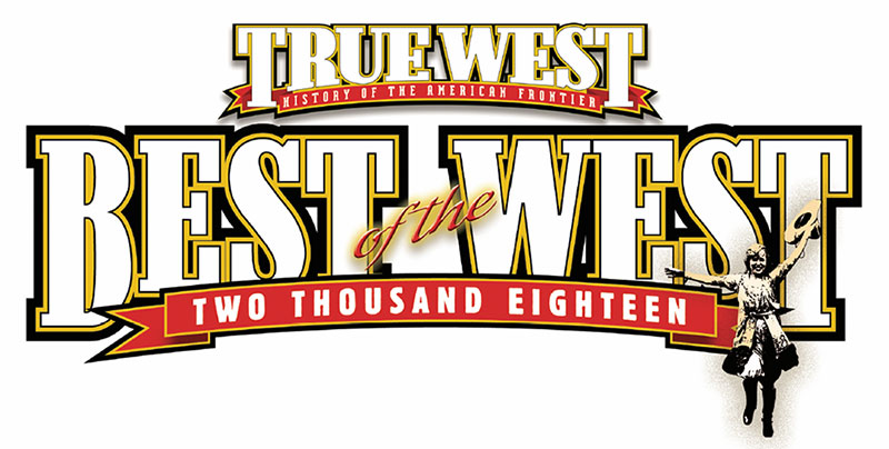"True West's ""Best of the West"" award fro 2018"