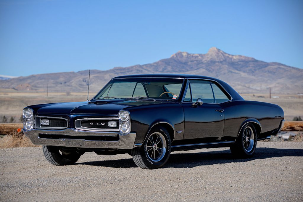 Our raffle car: 1966 Pontiac GTO.