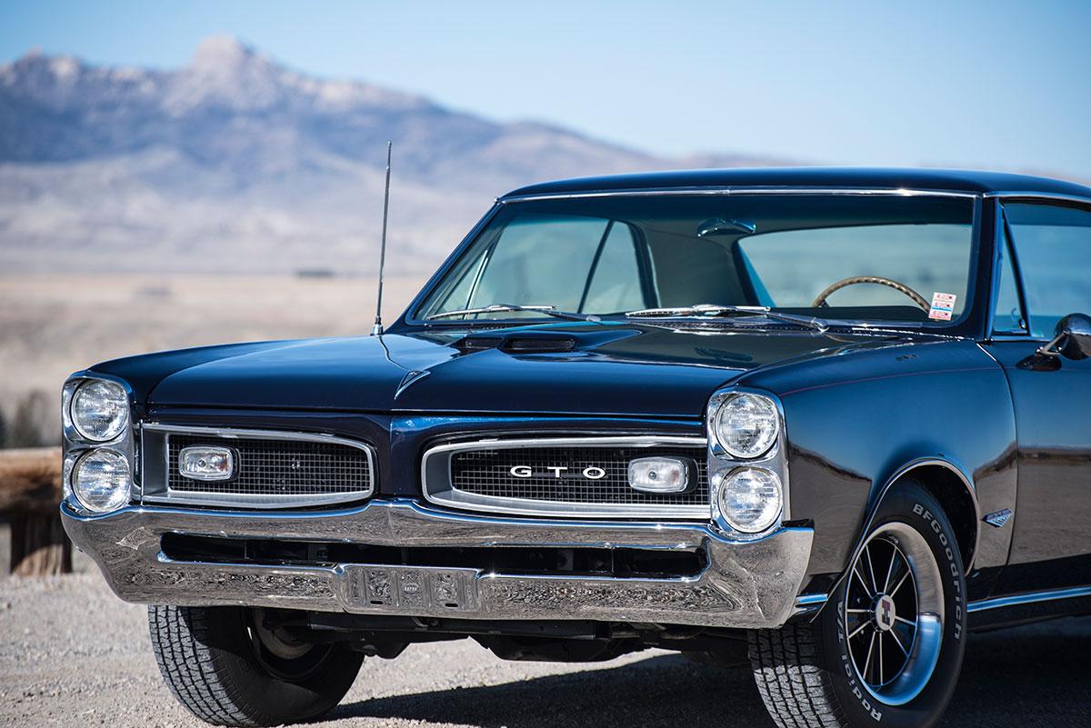 Raffle car: GTO front