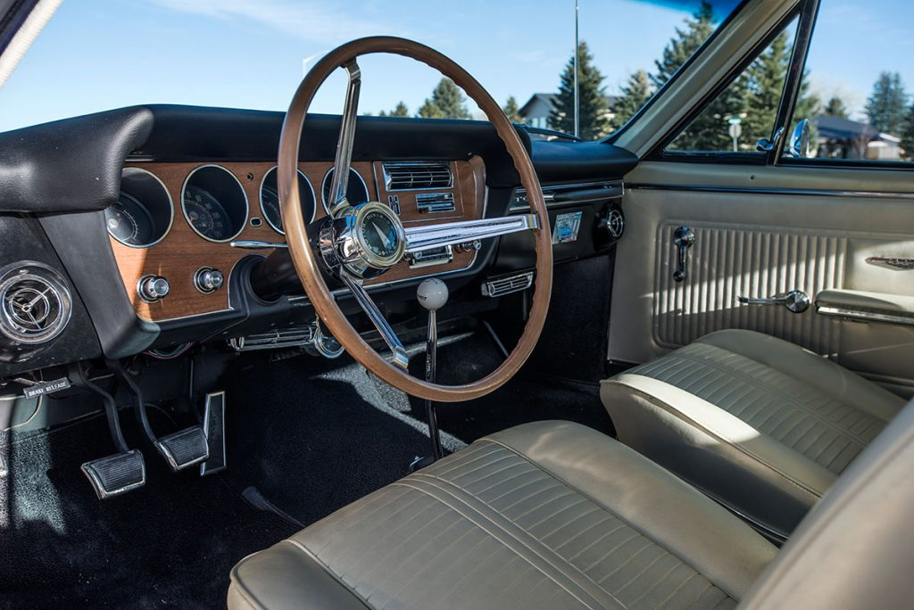 Raffle car: GTO interior