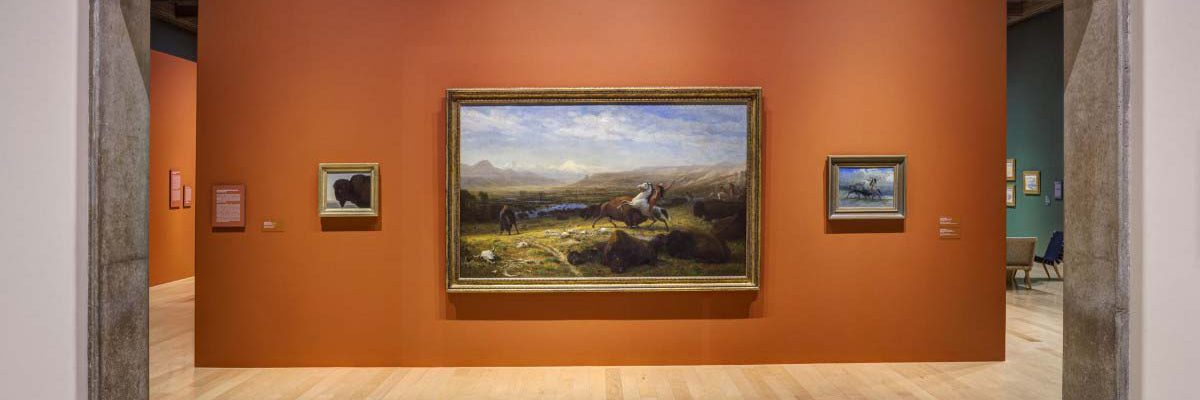 Go West! Art of the American Frontier from the Buffalo Bill Center of the West October 22nd, 2016 – February 20th, 2017 Palm Springs Art Museum, Clayes III Wing. Credit David Blank