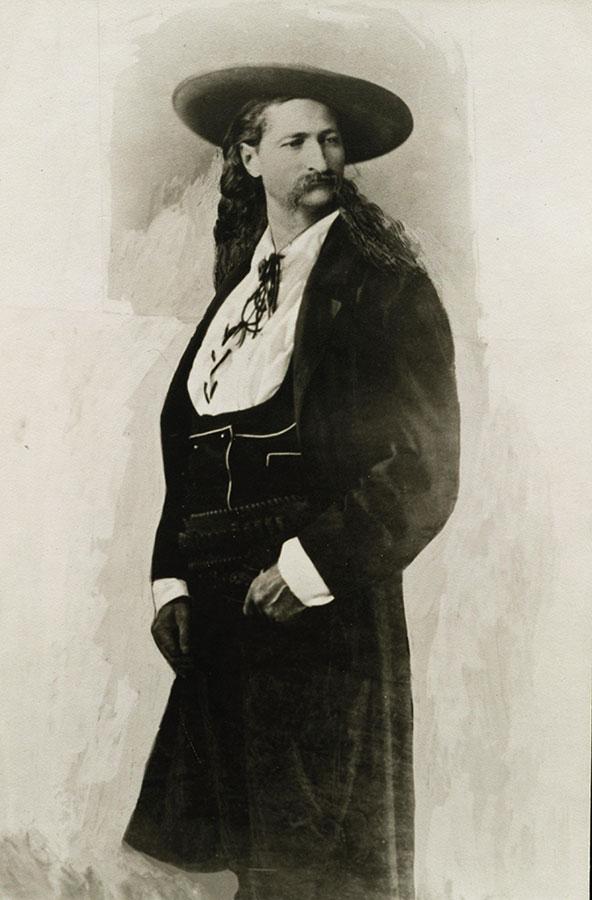 "James B. ""Wild Bill"" Hickok. MS 71 Vincent Mercaldo Collection. P.71.491"