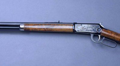 Winchester Model 94 rifle, 30-30 caliber, ca. 1969. Serial no. wc100,000. 1.69.2160