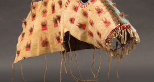 """""""Plains Indian Buffalo Cultures: Art from the Paul Dyck Collection"""" by Emma I. Hansen."""