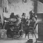 Bierstadt in his Studio