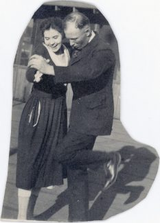 Man and Woman Dancing. MS322 John Wallace Crawford Collection. PN.322.1012