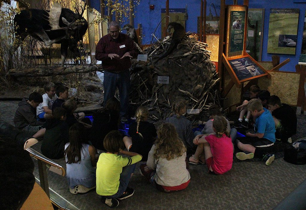 MILES kids enjoy a variety of programs at the Center from Plains Indian culture to Yellowstone plant and animal life.