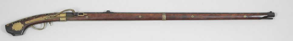 A Japanese Musket dating to 1650–1750. Buffalo Bill Center of the West, Cody, WY, USA; Gift of Olin Corporation, Winchester Arms Collection, 1988.8.4024