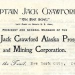 "Points West Online: The ""Poet Scout"" Captain Jack Crawford"
