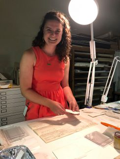 Buffalo Bill Center of the West Conservation Intern Sarah Freshnock, 2018