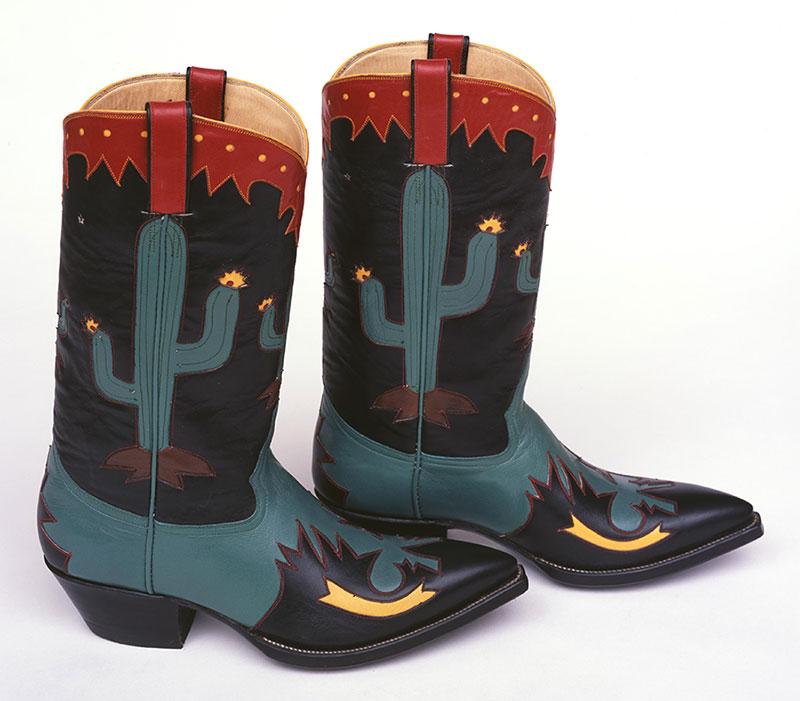"""Cowboy Boots"" (1994) by Rocket Buster Boots, El Paso, Texas. 1.69.4880.1"