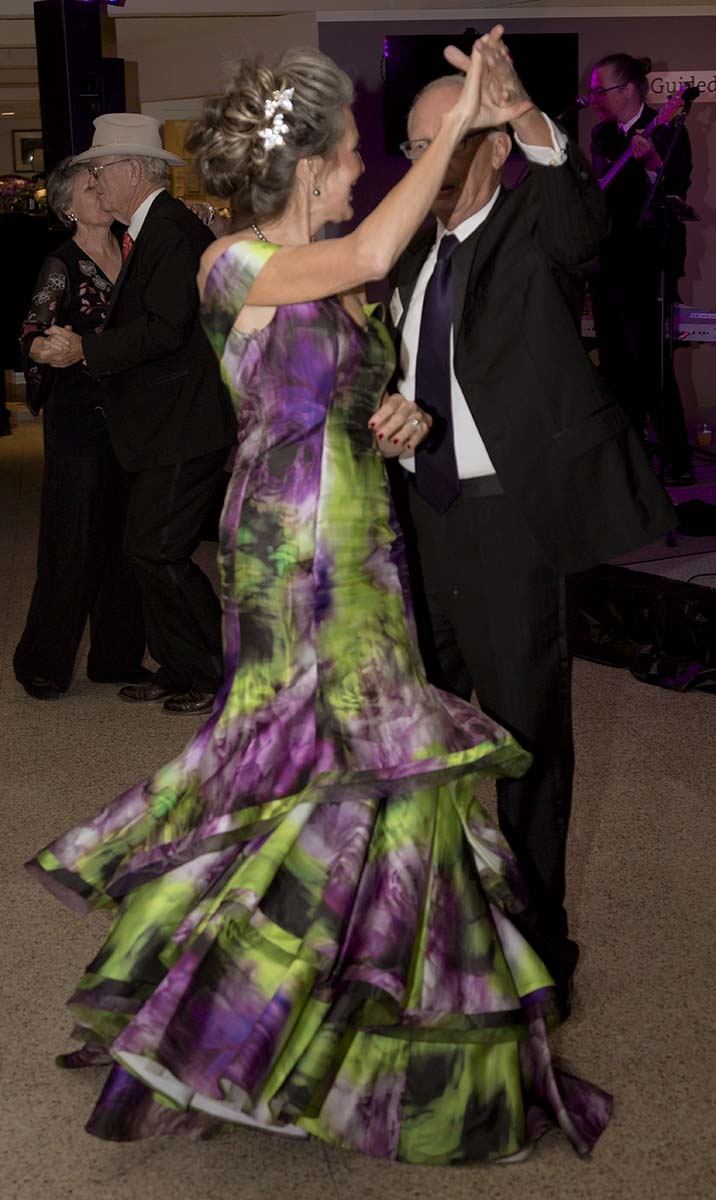 Dancing at Patrons Ball, 2018