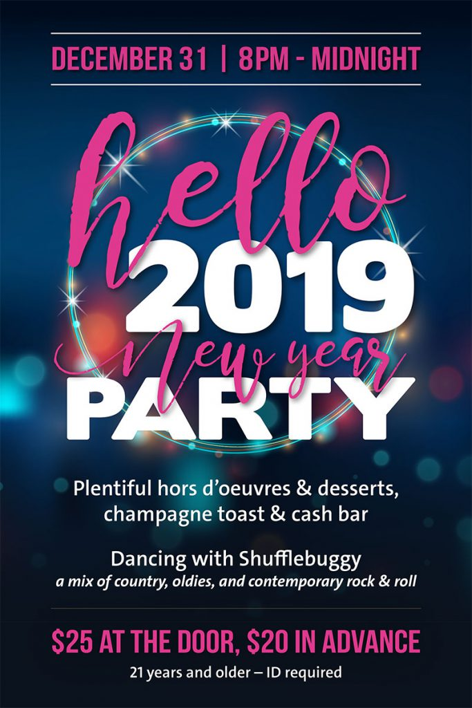 Hello 2019 New Year Party