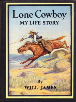 Cover, Lone Cowboy, by Will James.