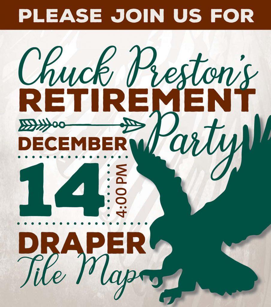 Chuck Preston's Retirement Party