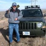 Mike Kochert shares his work on golden eagles over his 50-year career at an August 1 lecture.