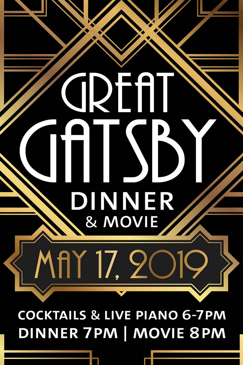 Dinner & Movie: Great Gatsby