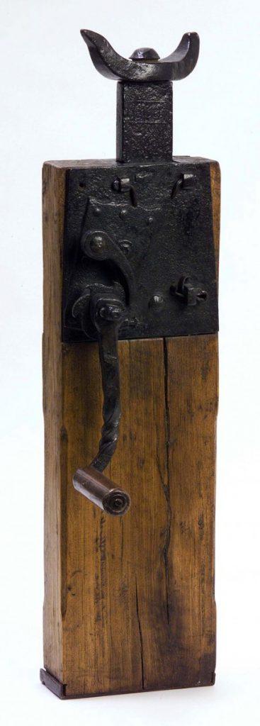 Railroad jack, circa 1830. Gift of Franklin L. Farnsworth. 1.69.1801