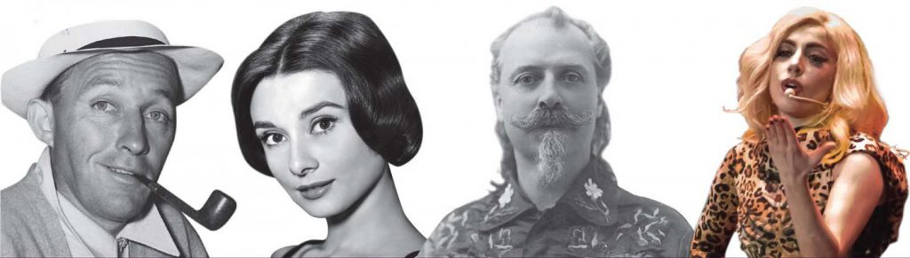 Bing Crosby, Audrey Hepburn, Buffalo Bill, and Lady Gaga. What do they have in common?