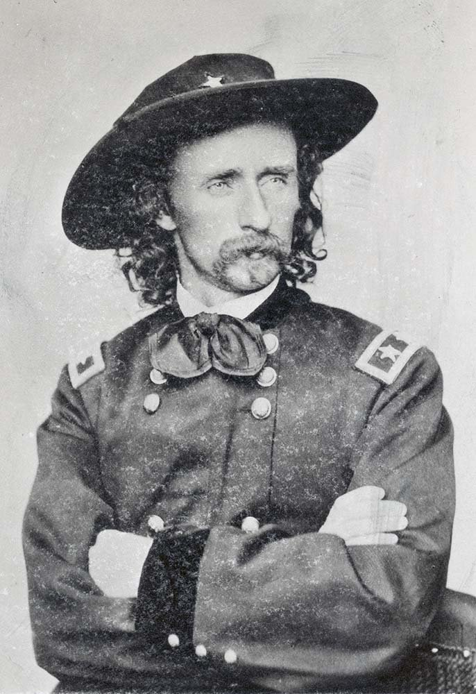George Armstrong Custer. MS 071 Vincent Mercaldo Collection, McCracken Research Library. P.71.0250