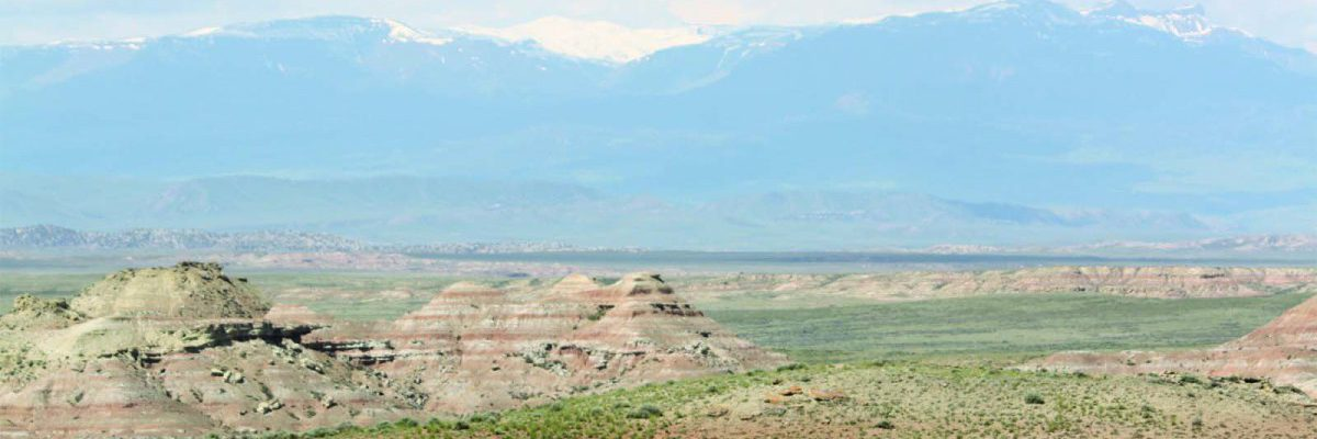 """Bighorn Basin landscapes define the """"Western"""" experience for many people."""