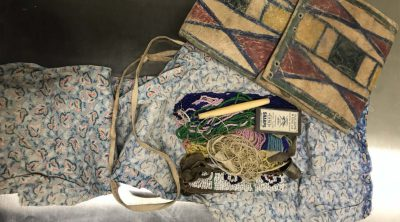Parfleche sewing kit. NA.106.203