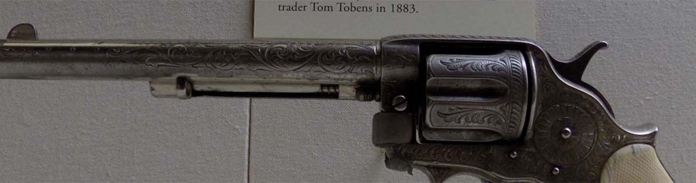 MM: 1887 Frontier Revolver, Tom Tobin. 2003.10.1 (detail)