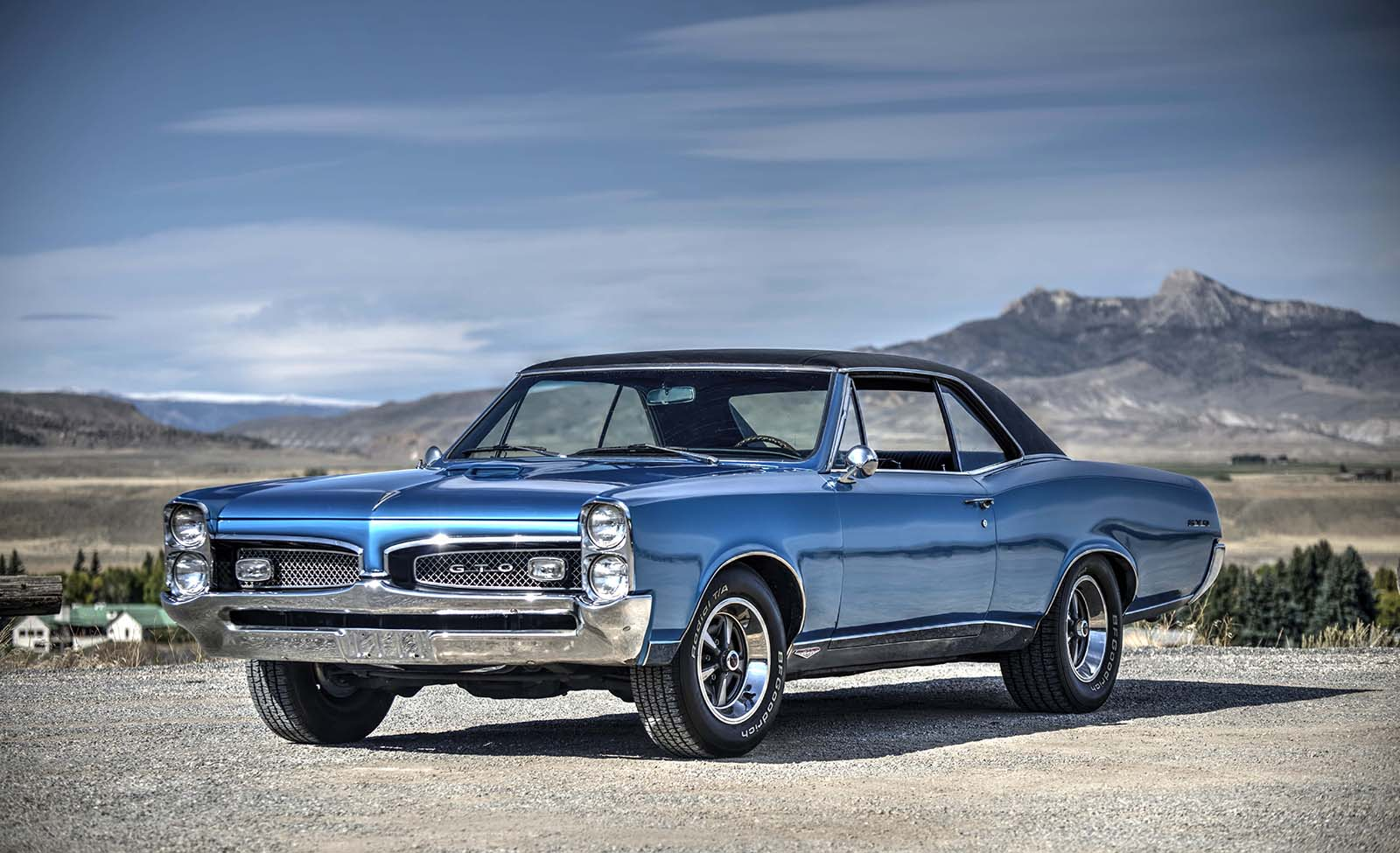 Win this 1967 Pontiac GTO in our raffle. Drawing takes place September 19, 2020. Tickets are on sale now! Photo by Spencer Smith.