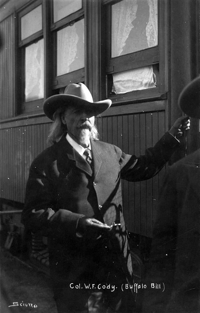 Buffalo Bill in Italy, 1906. Garlow SB.SvnrPstl.04.03