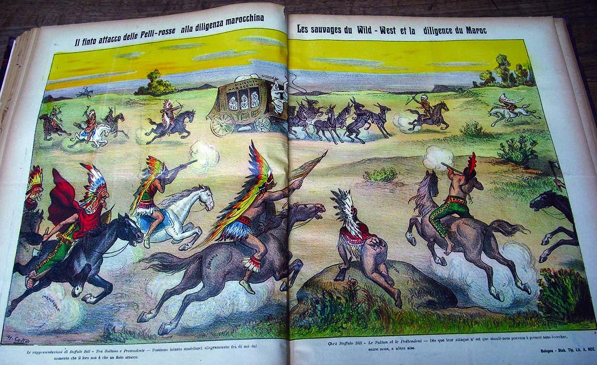 """Crisis in Morocco portrayed as a Wild West show scenario in """"La Rana."""""""
