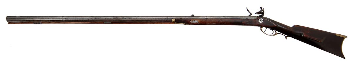 Flintlock rifle made by Macon Georgia School, American, 1825-1835. Gift of Olin Corporation, Winchester Arms Collection. 1988.8.1586