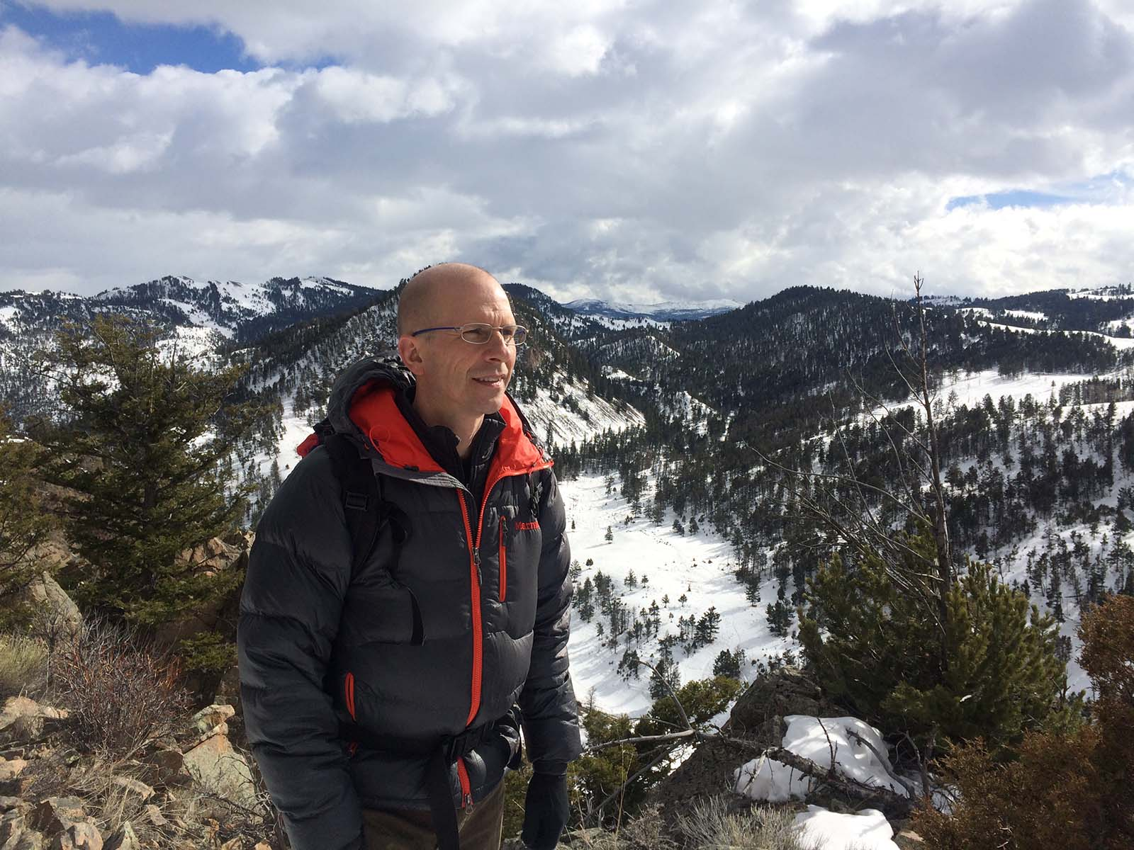 Frank T. van Manen speaks at our July 2 Lunchtime Expedition talk.