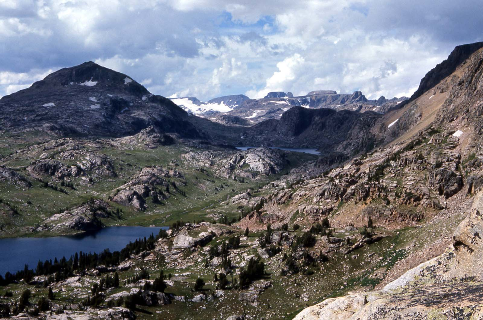 Beartooth country. Photo by J Good, 1966. From Wikimedia Commons.