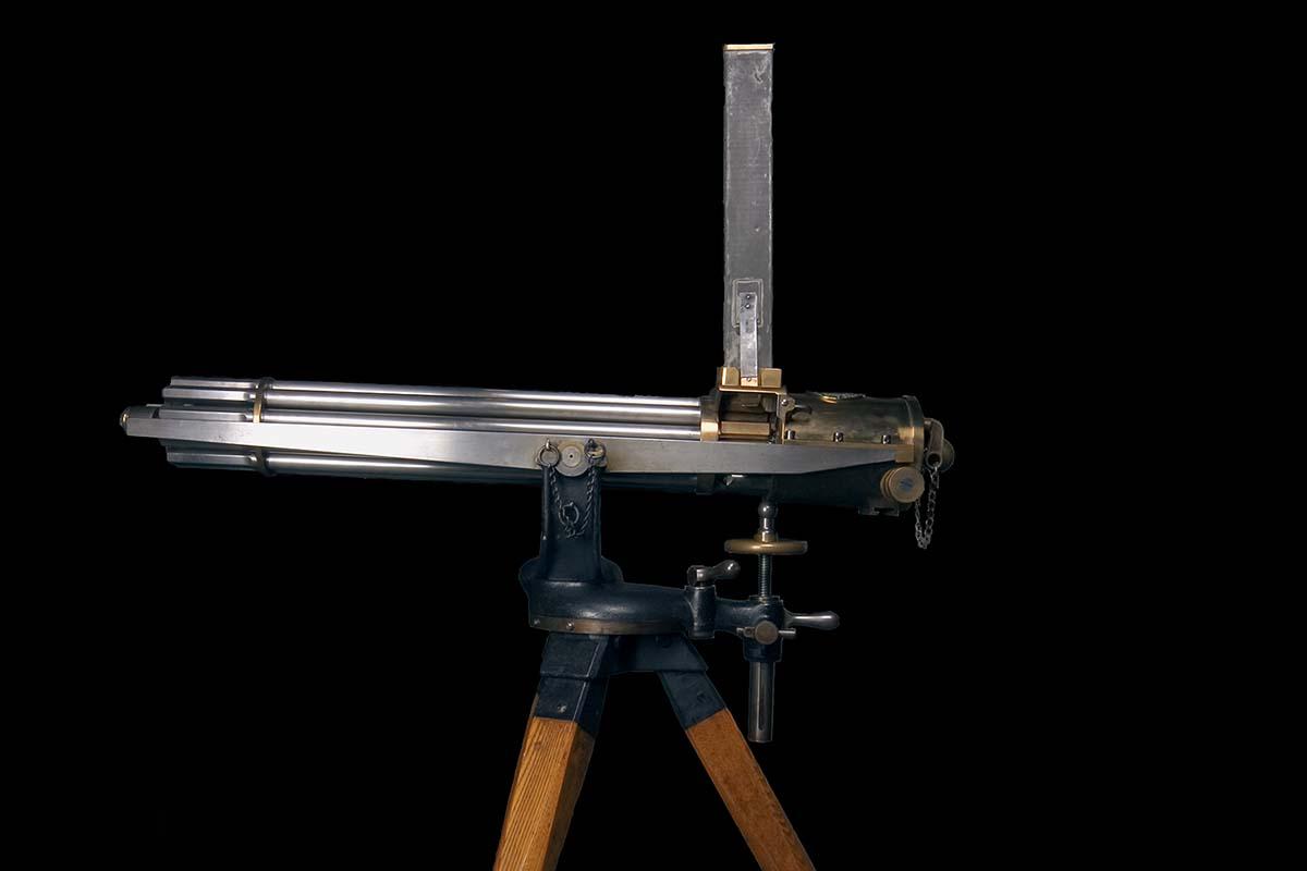 Gatling gun. 1988.8.2626