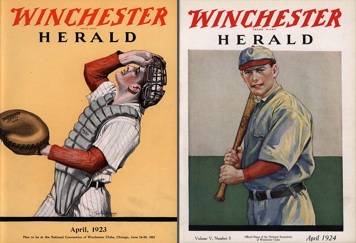 Winchester Herald covers. WH1923.04.03 & WH1924.05.03