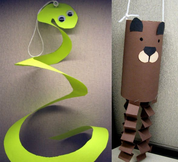 Make your own animal wind sock