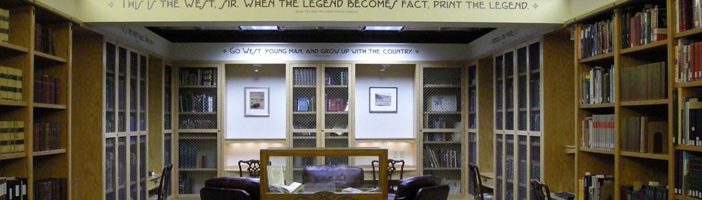McCracken Research Library reading room