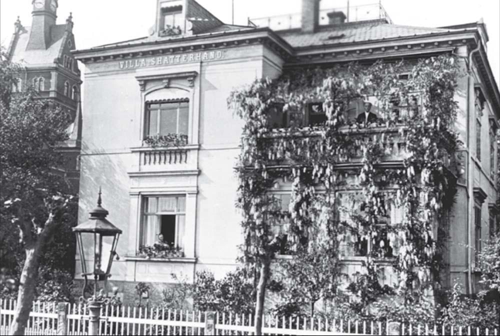 The Villa Shatterhand in Radebeul near Dresden, Germany, ca. 1900. Karl May Museum photo.