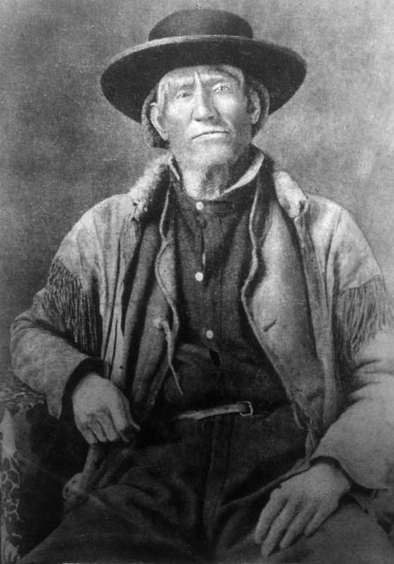 Jim Bridger (1804-1881). Denver Public Library, Call Number: Z-314. Noah H. Rose Collection. Wikipedia.
