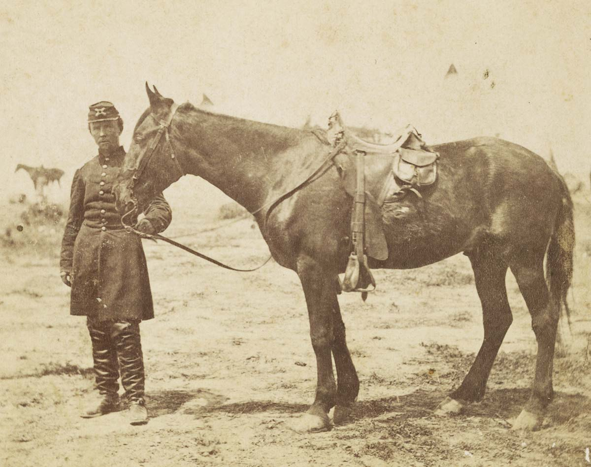 Major William M. Maynadier (1837-1898), 1st Regular Army Light Artillery Regiment, 1862, Washington, DC. Library of Congress Prints and Photographs Division Washington, D.C. 20540 USA. LC-DIG-ppmsca-49774