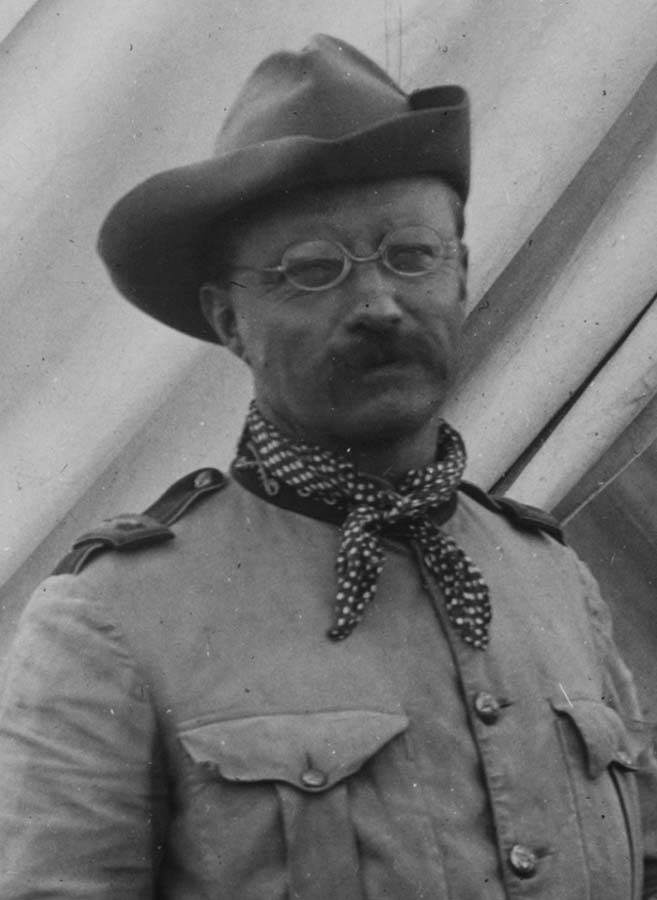 Theodore Roosevelt, September 22, 1898. Library of Congress Prints and Photographs Division Washington, D.C. 20540 USA. LC-DIGppmsca-36052
